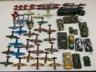 Diecast 70s vintage aircraft, vehicles and warships