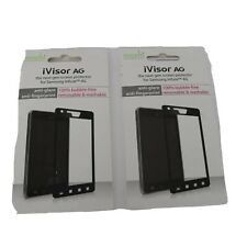 Moshi Screen Protector (2) for Samsung Infuse 4G * New in Package * AT&T * Black