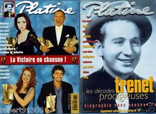 PLATINE 79./..BOULAY..FARMER..FAUDEL..DAVE..CLERC..MANAU..TRENET..CLOCLO./.03-01