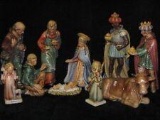 """+. Goebel Hummel 260 """"Krippe"""", Jumbokrippe, Jesus, Maria, Josef, Heilige Könige"""
