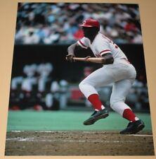 Ken Griffey Cincinnati Reds unsigned color 8x10 action photo