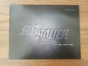 2008 SIG SAUER PRODUCT CATALOG (BROCHURE) (LITERATURE)