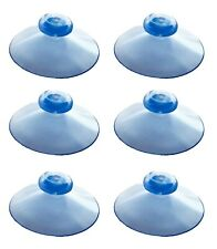 100 x 42mm Clear Suction Cup WIth Stepped Knob. For Hanging Posters in Windows