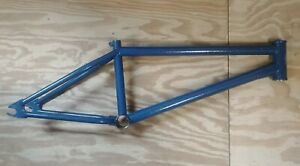 FBM Bikes Paradigm BMX Frame 20.75 TT Blue Vein -