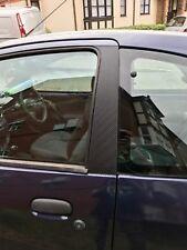 Ford Ka 1996-2008 Carbon Fibre Effect Door Pillar Trim Sticker Kit