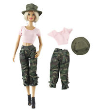 3in1 Set Outfit Doll Clothes+hat For Barbie Doll
