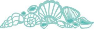 Kaisercraft Texture Shells Decorative Die Seashore Beach