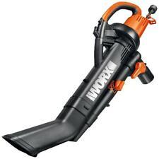 Worx Trivac Collection 3-in-1 Blower/Mulcher/Yard Vacuum Instant One-switch