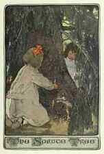 A4 Photo Willcox Smith Jessie 34 1903 Child in a Garden The Spruce Tree Print Po