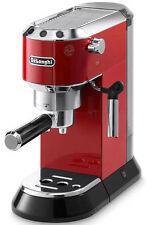 Delonghi Dedica EC680R Pump Espresso Cappuccino Coffee Machine Red