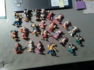 Lot of 22 Vintage WALT DISNEY Figures MANY APPLAUSE SOME EARLIER MICKEY MINNIE +
