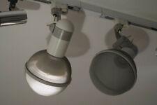 2 Microphone Lamps Design Roger Tallon für ERCO mit Schiene