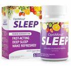 OptiMind Sleep (Rest Up), Fast-Acting Sleep Aid 30 Dissolving Tablets