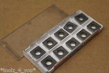 10x New Seco SPLX1204AD 375 Carbide Inserts For Milling CI287