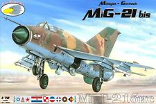 "RV Aircraft 1/72 MiG-21 bis ""Over Europe"" plastic kit"