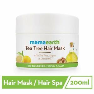 Mamaearth Anti Dandruff Tea Tree Hair Mask with Tea Tree and Lemon Oil - 200ml