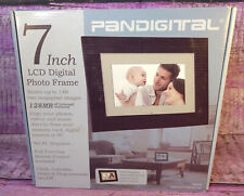 LCD Digital Photo Frame 7 inch Pandigital PAN70-2 Remote Control 128MB 149 Image