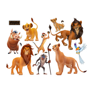 LE ROI LION THE LION KING SIMBA DISNEY STICKER /AUTOCOLLANT MUR DECO