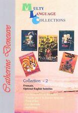 Catherine Deneuve. Region Free 5 movies Collection 2. Optional English Subtitles