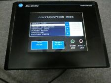 Allen-Bradley Panel View 1000 Touch Screen   2711 T10C15 with New LCD Screen