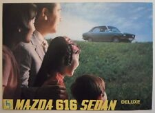 MAZDA 616 SEDAN orig 1970 UK Mkt Sales Brochure - Capella Saloon