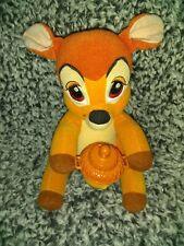 2002 Baby Bambi Mattel Plush Animated  Makes Noise Rare
