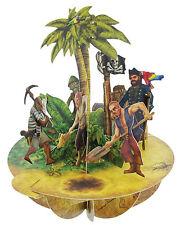 Santoro 3D Pirouettes Greeting Card - Treasure Island - #SG-PO-028