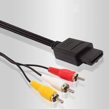 Composite AV Cable for Nintendo Super Nintendo / SNES GameCube And Nintendo 64
