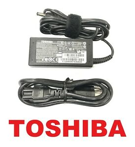 Genuine New Toshiba 45W 19V 2.37A AC Charger F Satellite C75D-A7213 C75D-A7223