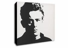 James Dean - Canvas Wall Art Framed Print - Various Sizes