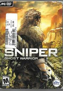 CITY INTERACTIVE  SNIPER: GHOST WARRIOR   USED PC DVD ROM