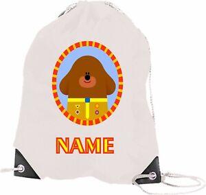 Hey Dugee Drawstring PE Bag Personalised Swimming Shoes Gym
