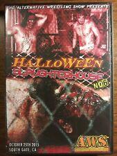 Wrestling Dvd Aws Promotions Halloween Slaughterhouse#6 10/25/14. Roh bar impact