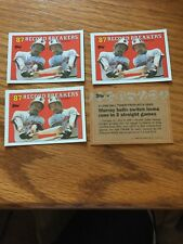 1988 Topps Baseball Card  Eddie Murray -#4- 4 Mint Card lot