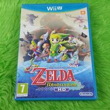 wii U ZELDA The WIND WAKER HD The Legend Of Zelda Nintendo PAL UK Version