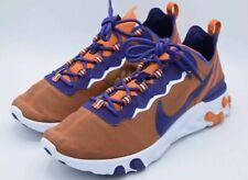 Nike React Element 55 Clemson Tigers NCAA Men Size 10 CK4796-800 NEW Free Ship