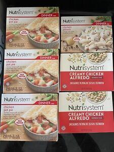 Nutrisystem Dinner Lot Of 16 Non-Expired Dates Lot 4