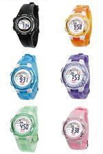Kids Children Digital LED-Light Sport watch with Alarm,Calendar and stopwatch