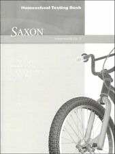 Saxon Math Intermediate 3 Homeschool Testing Book Tests