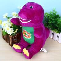 "Singing Barney 12"" I LOVE YOU Plush Doll Toy Gift For Kids Child Girls"