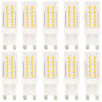 10 Stück G9 LED Stiftsockellampe Leuchtmittel 5 Watt AC 220V Warmweiß 3000K