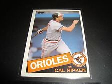 Cal Ripken JR 1985 Topps #30 Baltimore Orioles Baseball Card Mint Condition