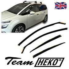 CITROEN C4 GRAND PICASSO 2013-up SUN SHADE + wind deflectors 4pcs set HEKO