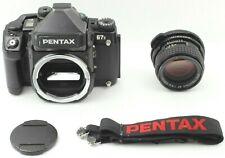 【Exc+++++】 Pentax 67II Medium Format SLR Film Camera with 105mm lens from Japan