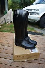 NIB New Deadstock Vtg Dehner Sz 13 Stock Bal Laced Patrol Motorcycle Boots USA