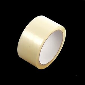 """72 ROLLS OF CLEAR PACKING PARCEL TAPE 48mm x 66M (2"""")"""