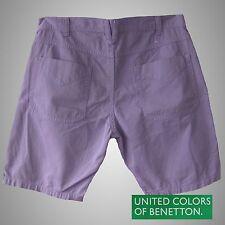 BENETTON ** Shorts / Kurzhose / Bermudas - DENIM - 100% COTTON  Gr.48  NEU