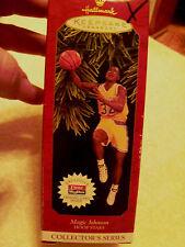 1997 Hallmark Keepsake Hoop Stars Magic Johnson Plus Card