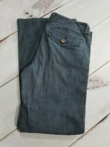 Banana Republic 70's Style Bell Bottom Flare Dark Jeans Womens Size 6 Inseam 29""