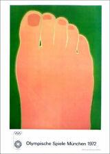 Tom Wesselmann Munich Olympics 1978 Poster Print 16 x 11